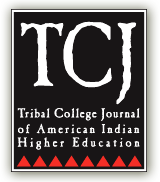 Tribal College Journal logo picture and link to Tribal College Journal