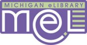 Michigan E Library logo picture and link to E Library